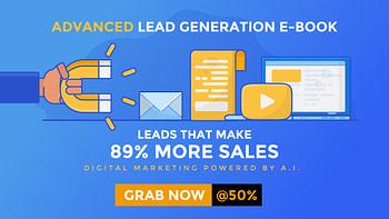 Advanced lead generation e-book