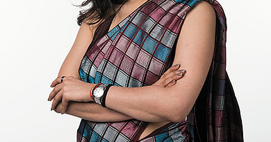 Palak Shah, fashion desigenr and founder of Ekaya Banaras.