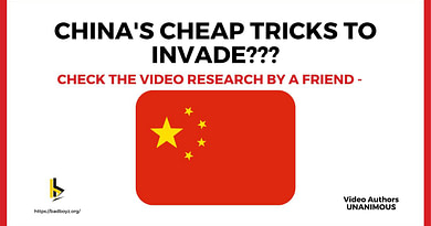 China Cheap Tricks to Invade India - badboyz