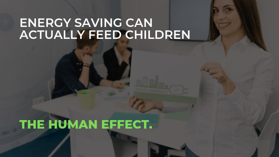bAD boyZ-Energy saving can actually feed Children - The Human Effect.