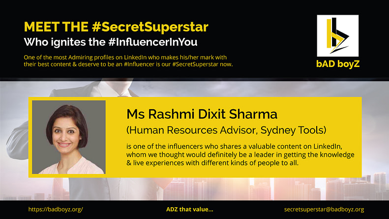 rashmi-dixit-sharma-secret-superstar
