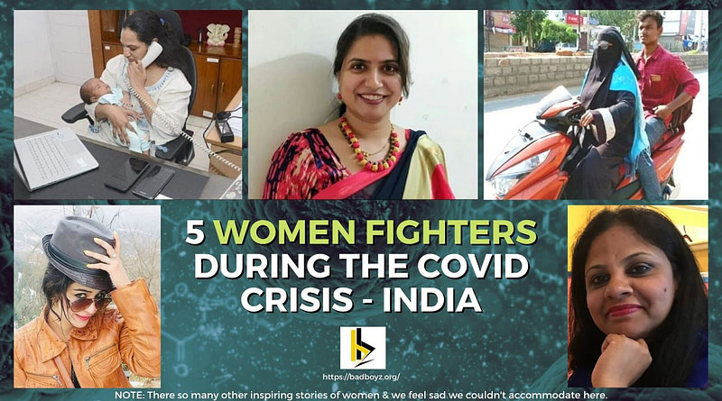 women fighters of india during corona - badboyz