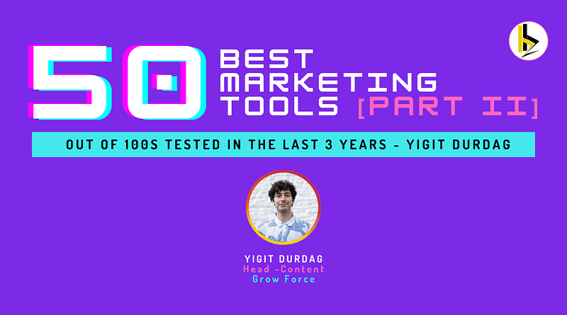 50 BEST Marketing Tools [PART II] - bADboyZ